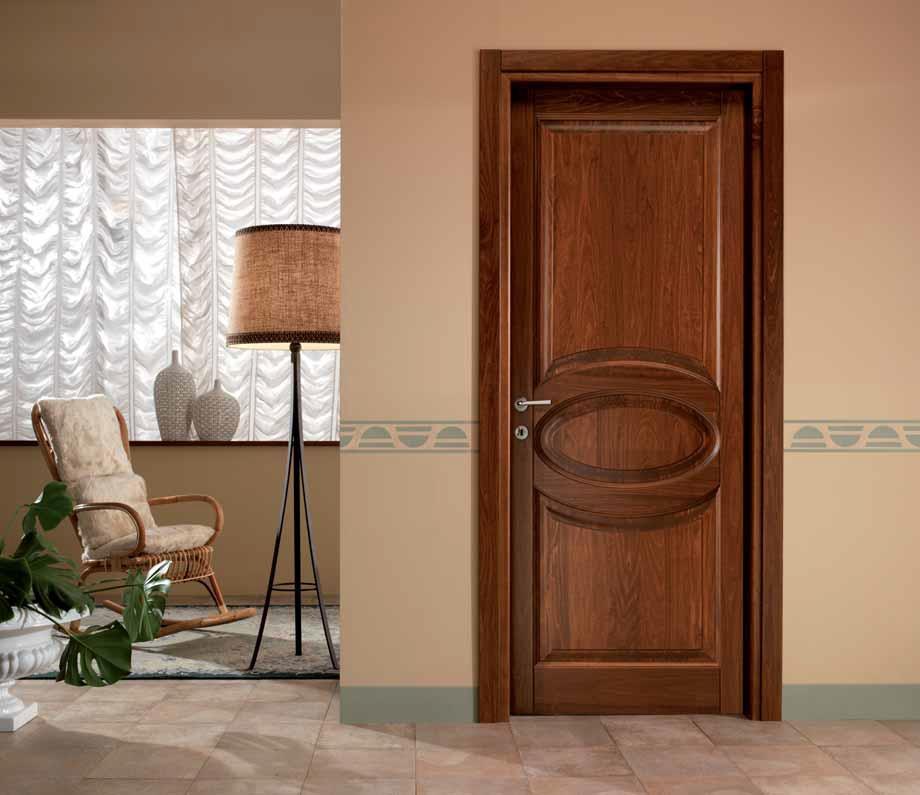 Porte in legno massello per interni prezzi idea creativa for Caratteristiche di interior design della casa colonica