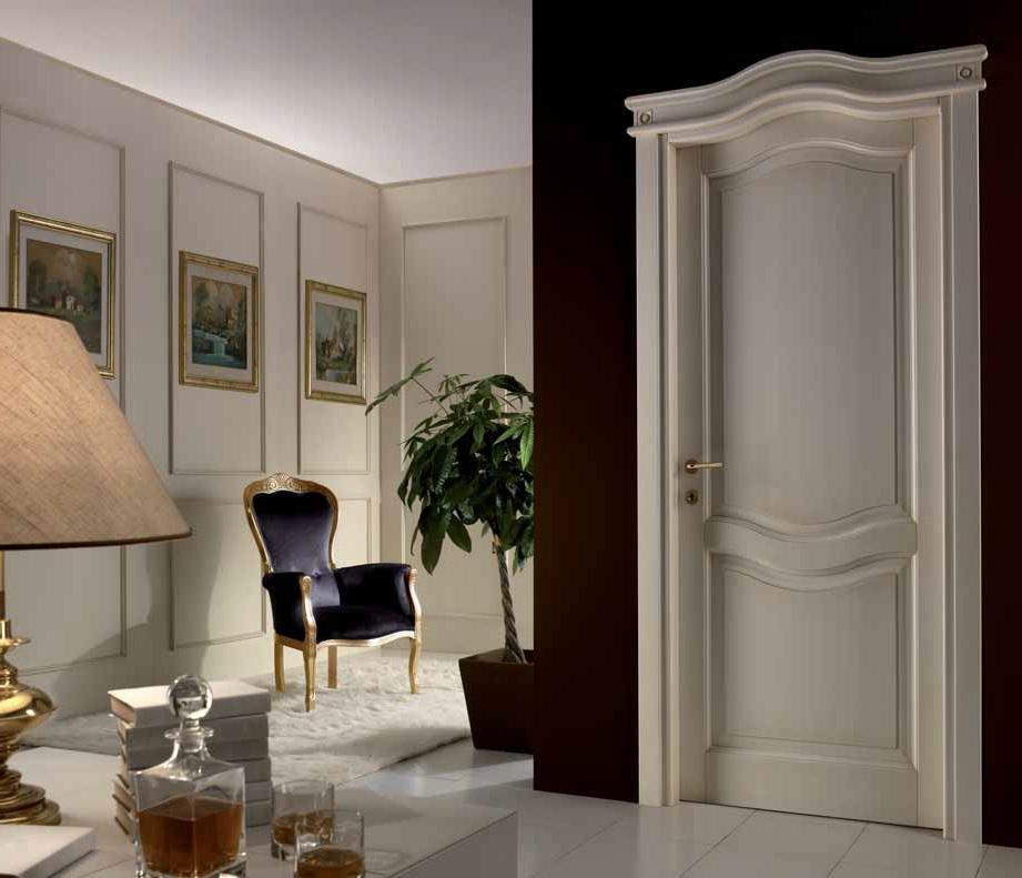 Porte classiche dalle linee morbide e familiari franchi for Cornici foto bianche
