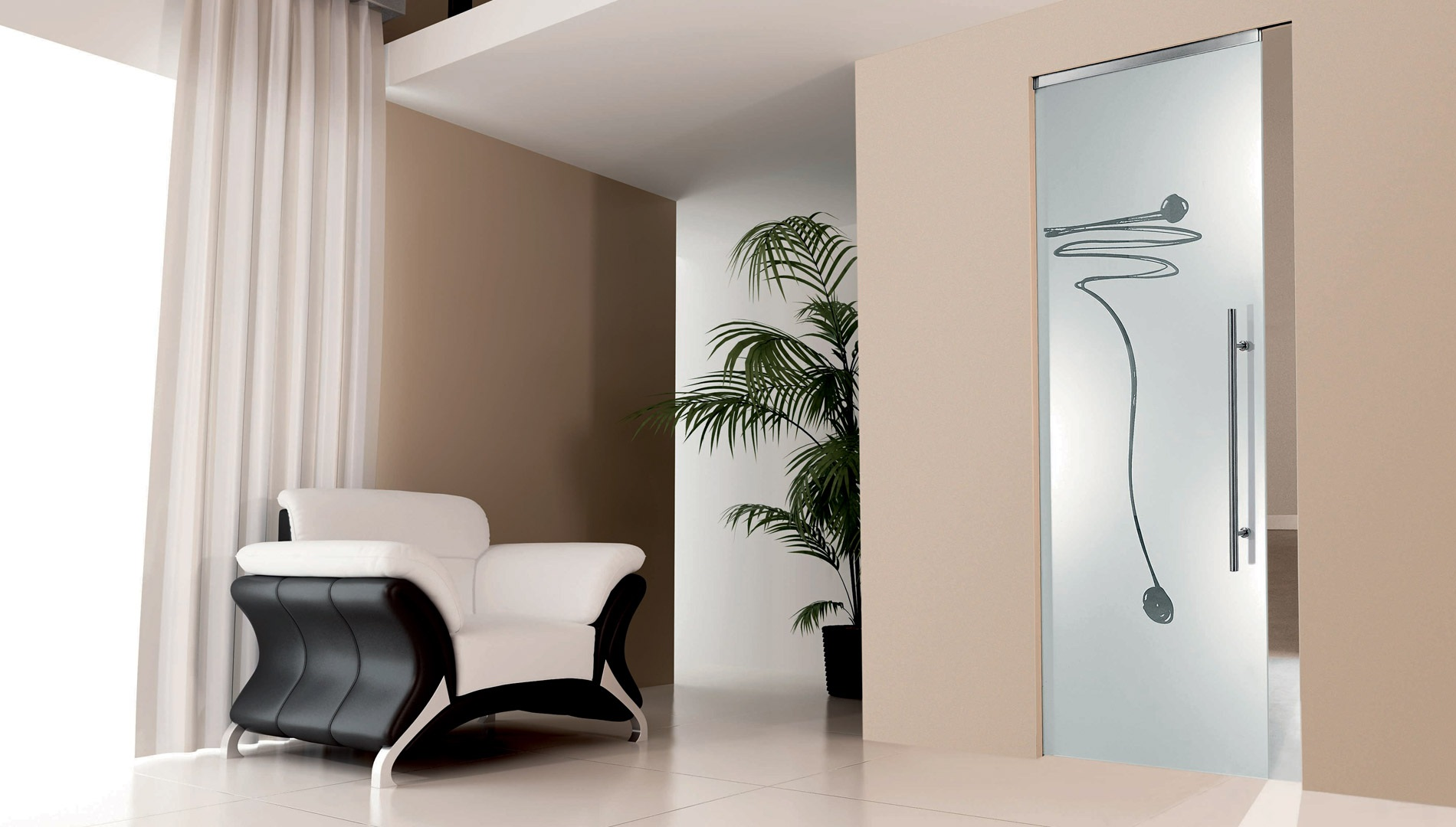 Porte di design dalle soluzioni estetiche innovative for Porta scorrevole a scomparsa