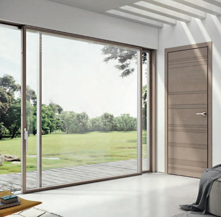 Finestre pvc legno finestre pvc alluminio e legno - Porta finestra scorrevole esterna ...