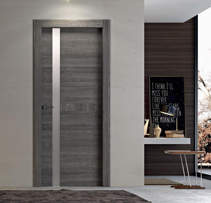 Porte moderne dalle linee essenziali e finiture di for Porte living