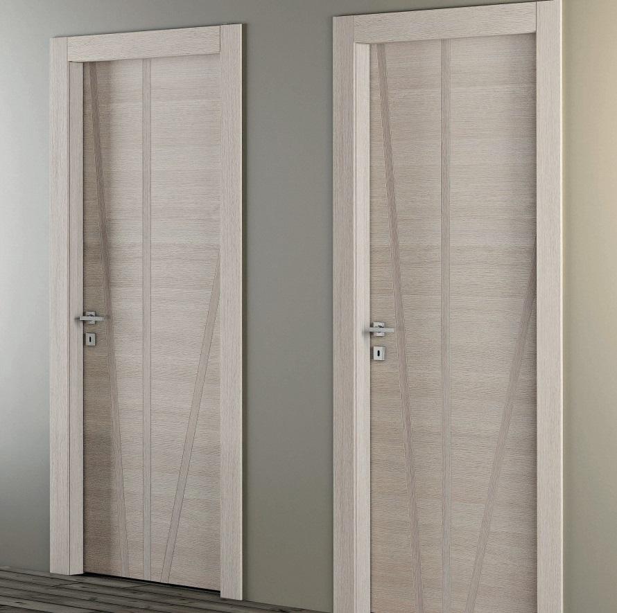 Porte moderne dalle linee essenziali e finiture di tendenza franchi arreda a cascina pisa - Porte interne pail ...