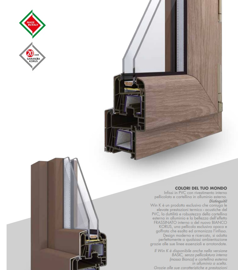 Finestre e serramenti in legno alluminio e pvc franchi for Serramenti pvc legno